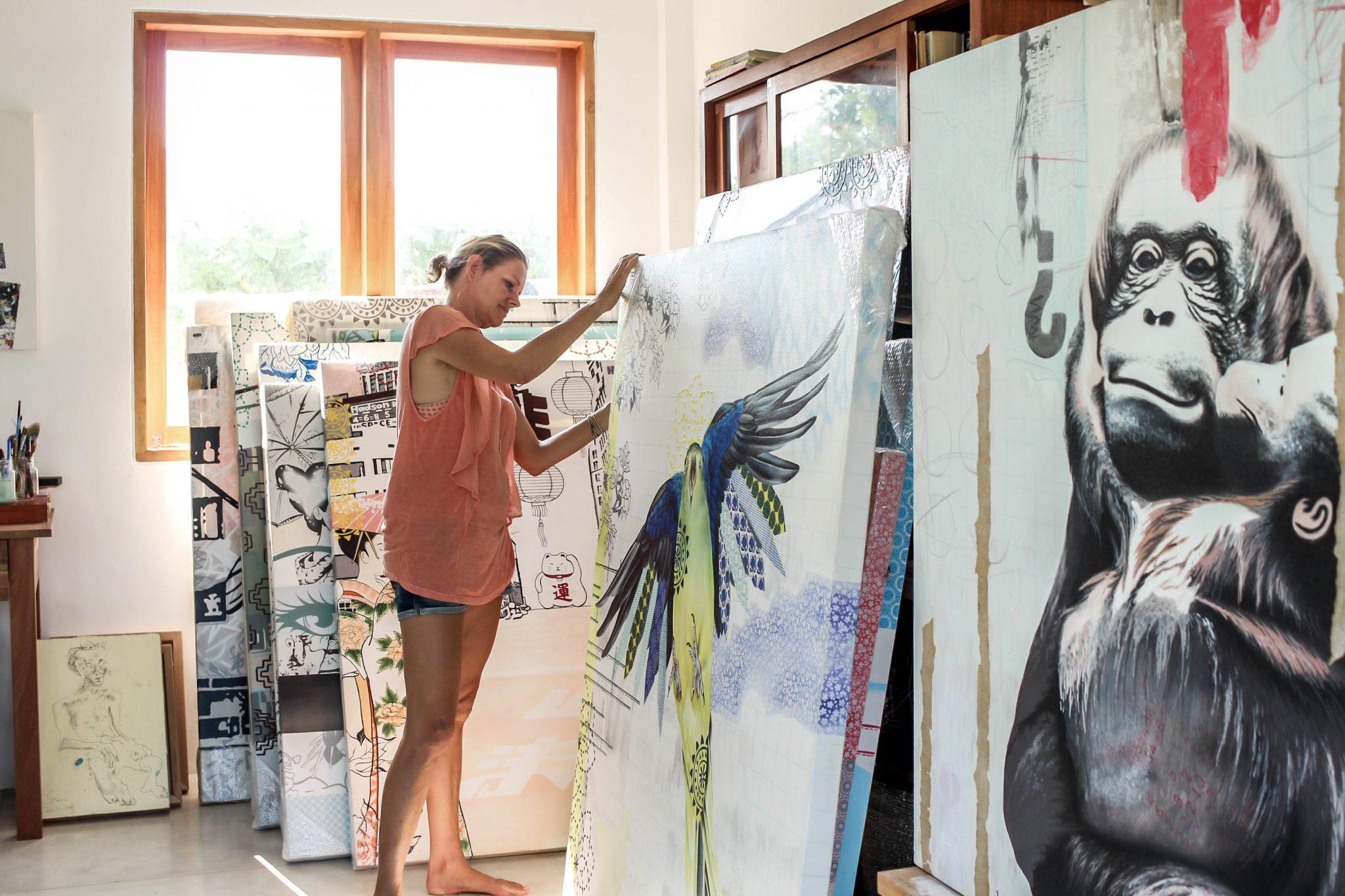 BALI INTERIORS IRENE HOFF ART