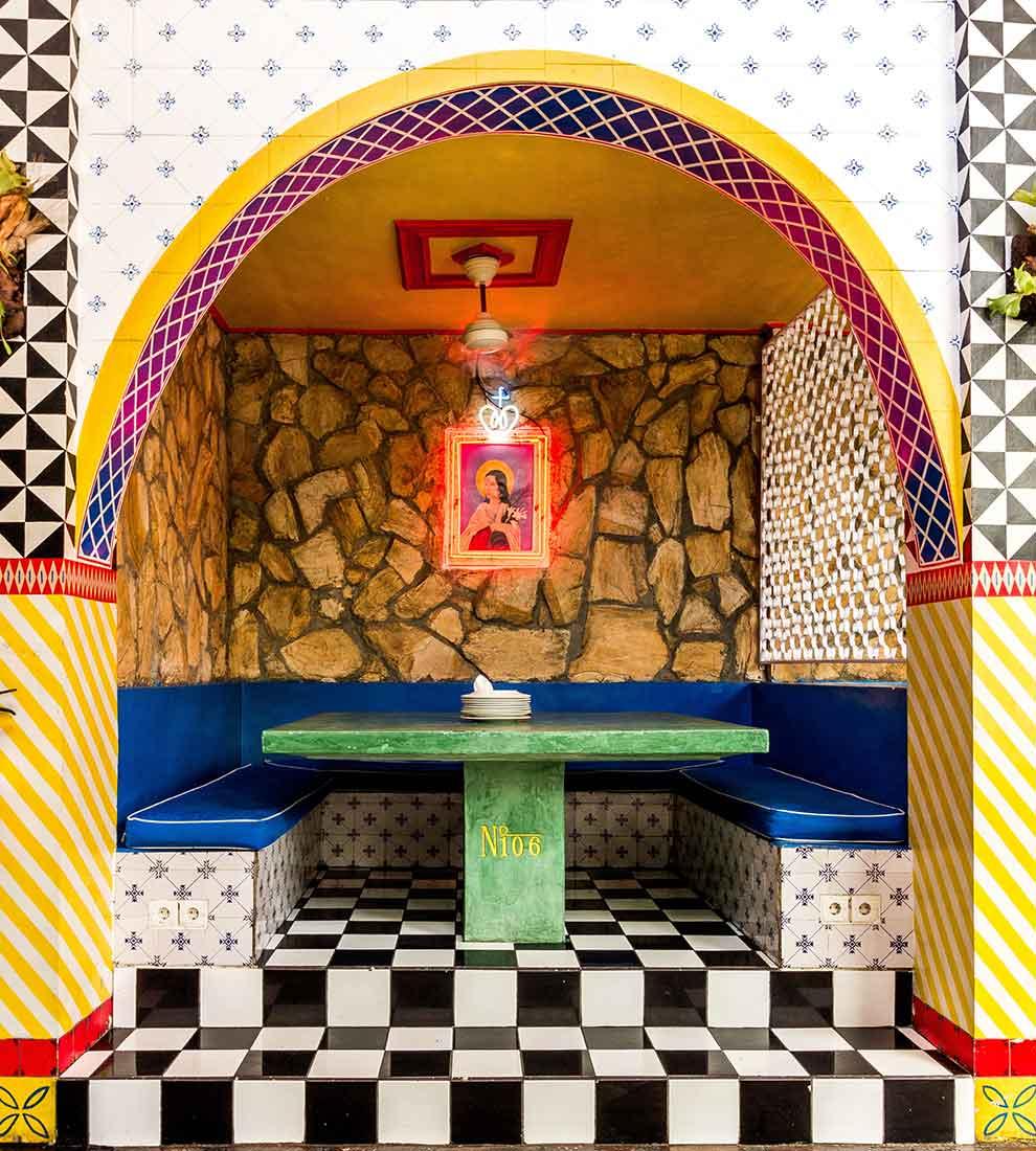 motel mexicola, bali interiors